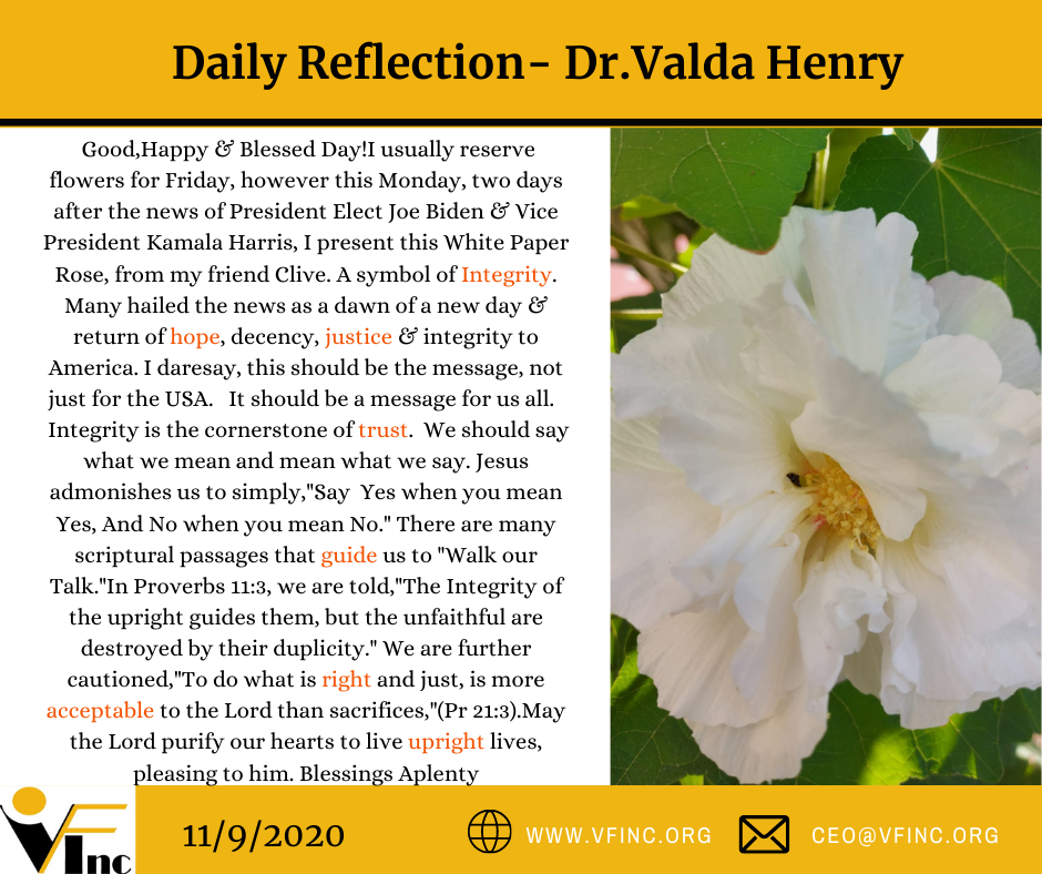 VFINC DAILY RELFECTION (30)