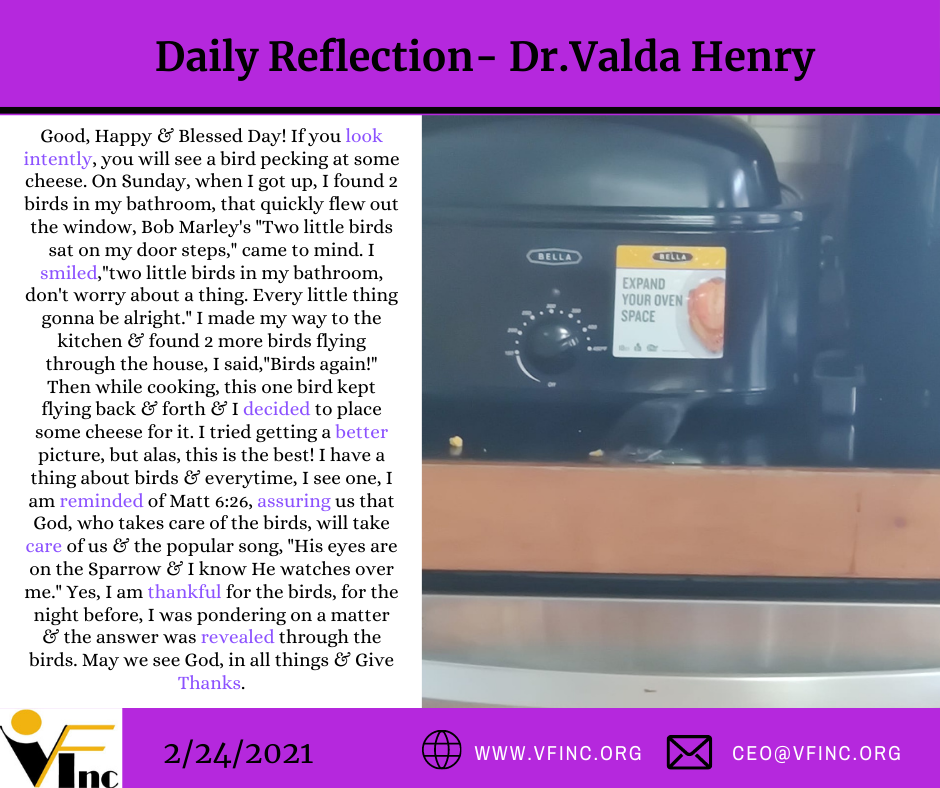 VFINC DAILY RELFECTIONS (28)